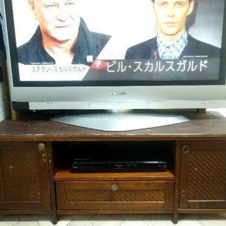 【無料】1月10日までアジアンテイストテレビ台