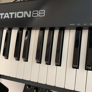 M-AUDIO Keystation 88 (88鍵盤 USB ...