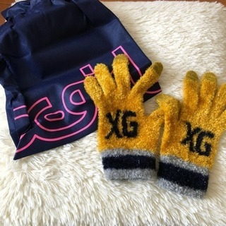 【X-girl】スマホ対応 手袋