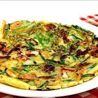 一緒に韓国料理チヂミを作ってみませんか。