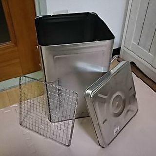 自作の燻製器