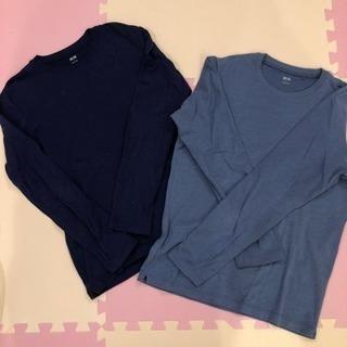 ユニクロ シャツ2枚