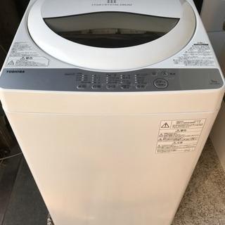 洗濯機 TOSHIBA 2018年式 AW-5G6