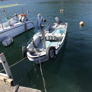ヤマハ和船17フィート25馬力