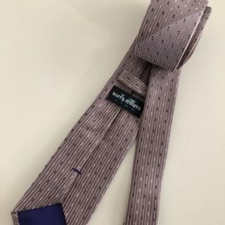ネクタイ くすみピンク