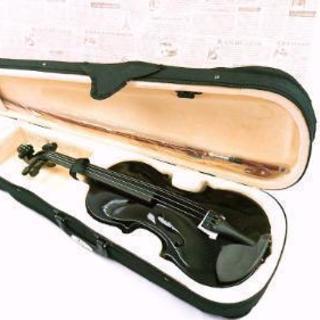 ヴァイオリン セット ブラック 初心者用