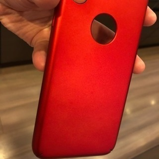 iPhone X ケース red