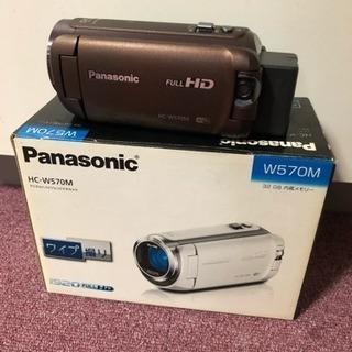 パナソニックデジタルハイビジョンビデオカメラ HC-W570M