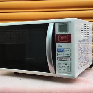 動作品 SHARP/シャープ 500W 15L オーブンレンジ ...