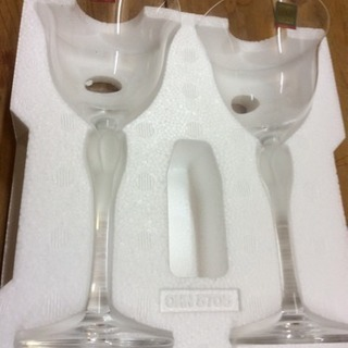 新品☆HOYAワイングラス☆美品☆値下げ