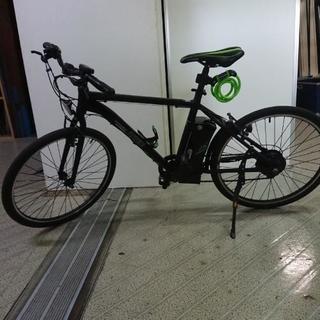 電動アシスト自転車 26インチ クロスバイク パスピエ アレス
