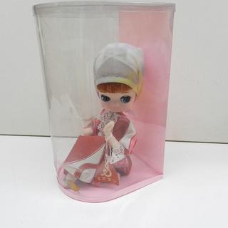 スズラン ポーズ人形 昭和レトロ ワイン No.A-15 高さ約...