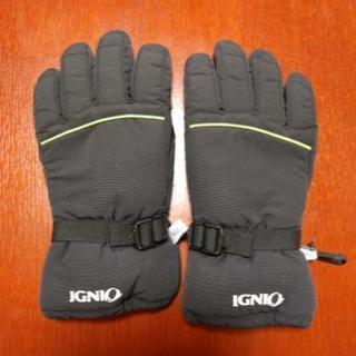 スキー手袋 黒の画像