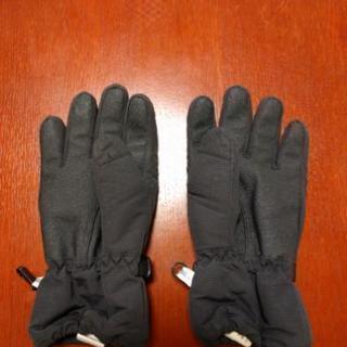 スキー手袋 黒 - 魚津市
