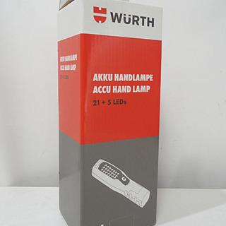 新品 WURTH/ウルト LEDハンドランプ 21+5LEDs ...