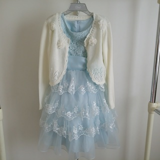 女児ドレス&ボレロ 120cm