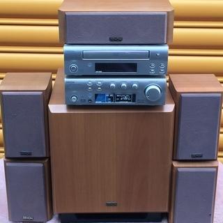 交渉可☆ホームシアターシステム DENON-300 AVサラウン...