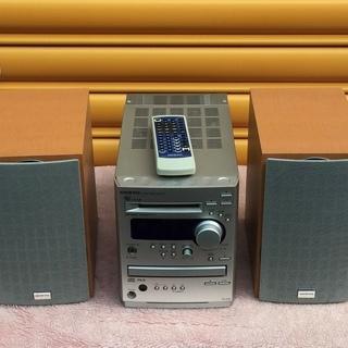 交渉可 ONKYO FR-N3X ハイコンポCD/MDチューナーアンプ・システムの画像