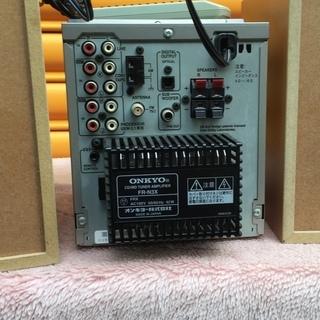 交渉可 ONKYO FR-N3X ハイコンポCD/MDチューナーアンプ・システム - 売ります・あげます