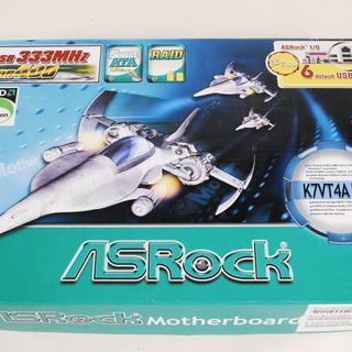 7713 未使用ASRock K7VT4A Pro ATXマザー...