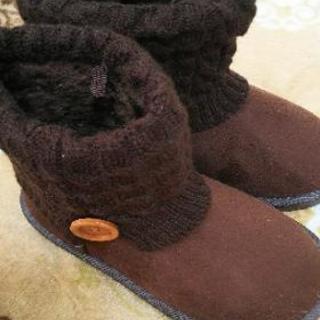 Mサイズ ブーツ 茶色 未使用