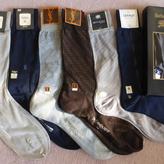 ブランド靴下 紳士用×7足 新品