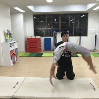 少人数制 バク転教室 「Studio AirTrip 浦安」 初...