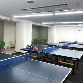 京都市下京区の手ぶらで通える貸卓球場
