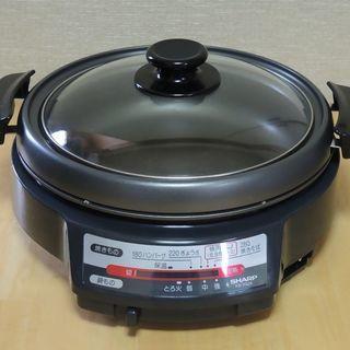 SHARP グリル鍋 (KX-YG24) 【お取引中】