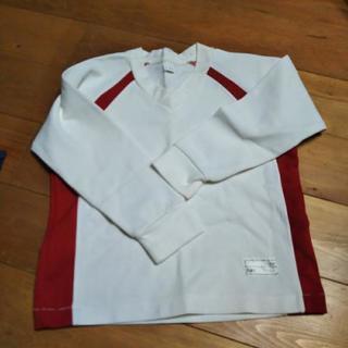 稲沢保育園   赤い体操服、長そで130男女兼用