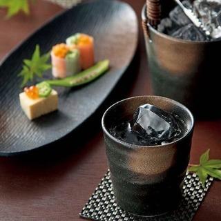 【新品未使用】焼酎セット 庫山窯 釉変り − 熊本県
