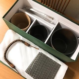 【新品未使用】焼酎セット 庫山窯 釉変り - 生活雑貨