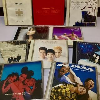 邦楽CD 11枚(ドリカム、米米クラブ、ロング・バケーションOS...