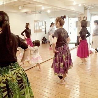 渋谷子連れフラダンス!体験レッスン募集♪
