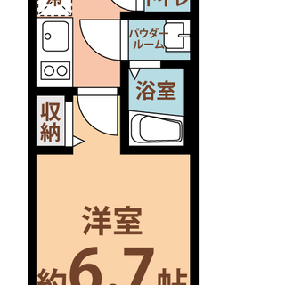大阪城北詰駅8分 家賃34,500円 共益費5700円  …