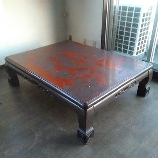 【無料で差し上げます】 ローテーブル
