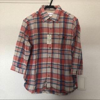 メンズ Denime チェックシャツ 七分袖