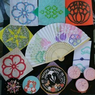 (松島)和文化体験紋切り
