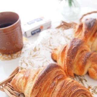 【満員御礼】1/14(月)パンとお菓子の教室~クロワッサン~