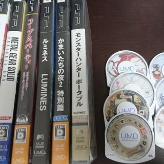 PSP ソフトセット 13本