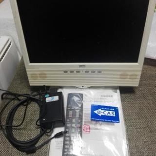 【値下げしました!!】テレビ兼pcモニター 15.4v型