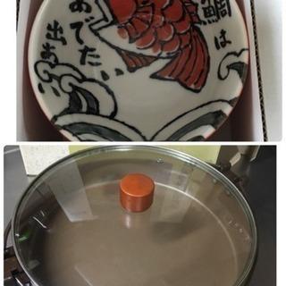 大きめすきやき鍋&お椀セット
