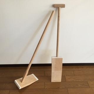 【中古】地鎮祭用鍬鋤のセット