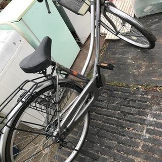 自転車 少しサビあり