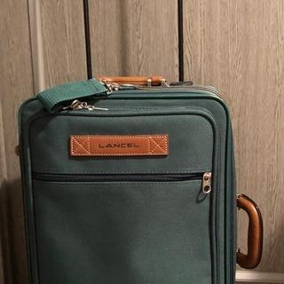 スーツケース LANCEL ランセル キャリーバック モスグリー...