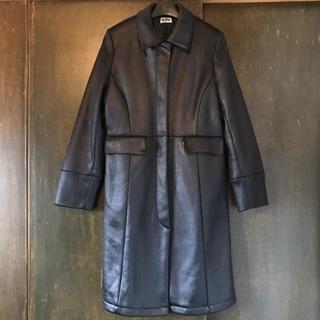 ブラックコート  シンプル キレイライン