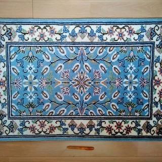 ★★美品!!トルコ旅行のお土産・96㎝×64㎝のペルシャ絨毯・玄...