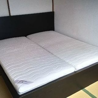 IKEA キングサイズベッド
