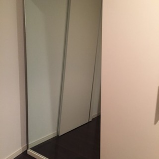 大きい鏡 (姿見)   (商談中)