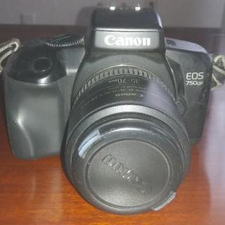 値下げ❕📸Canon EOS750 一眼レフカメラ(フィルム、中古)